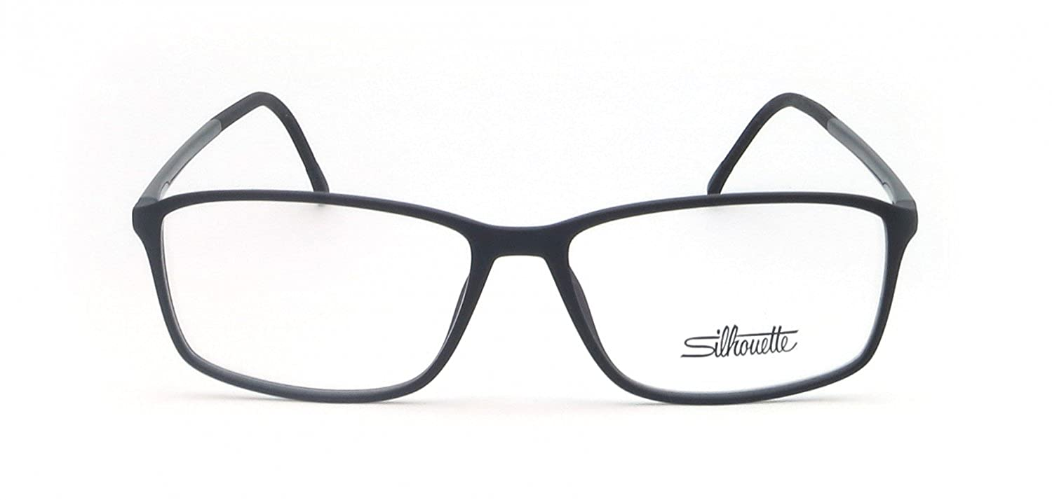 f2cc7cc93aab Eyeglasses Silhouette SPX Illusion Full Rim 2893 6050 black matte 54/14/140  3 pi at Amazon Men's Clothing store: