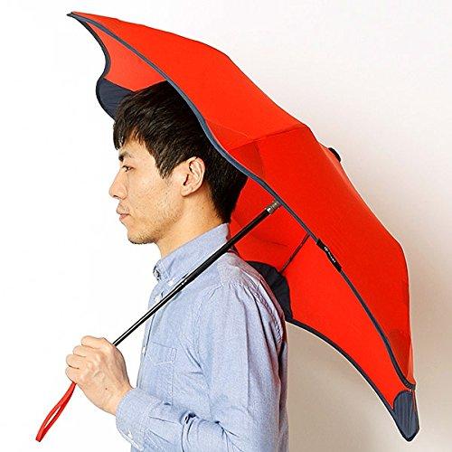 ブラント(BLUNT) 【空気力学による風に強い構造6色展開】ユニセックス折りたたみ傘(メンズ/レディース雨傘) B071WXXFN2 51|33レッド 33レッド 51