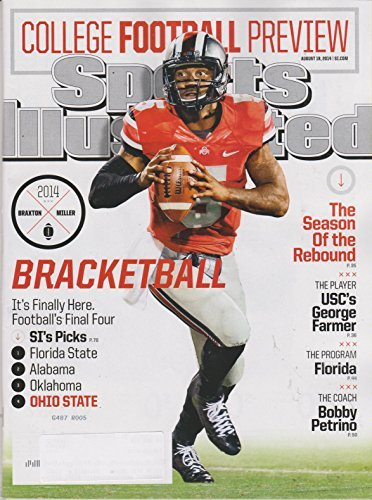 Sports Illustrated August 18, 2014 College Football Preview Bracketball