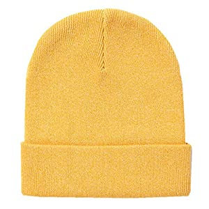 Home Prefer Classic Soft Warm Knitted Hat for Toddlers Boys Girls Skull Beanies