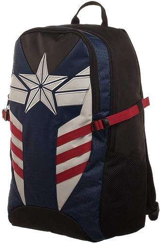 Captain America Star Logo Bookbag Backpack Licensed New Marvel Avenger