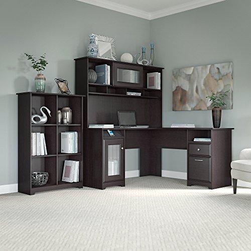 Computer Desk With Bookshelf Amazon Com