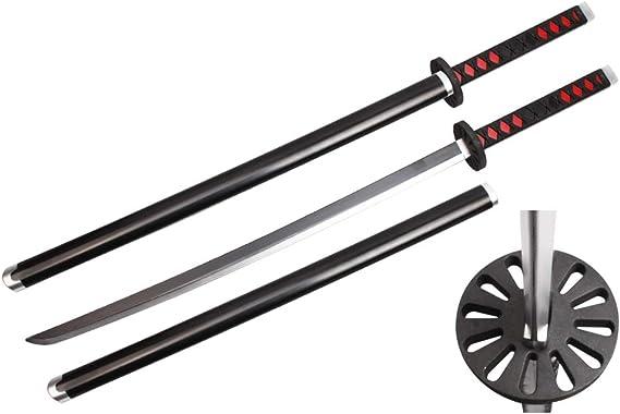 "41/"" Fantasy Foam Samurai Sword Demon KatanaShinazagawa Slayer Sanemi Cosplay"