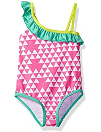 Baby Girls' Inf Triangle Print One Piece Swimsuit