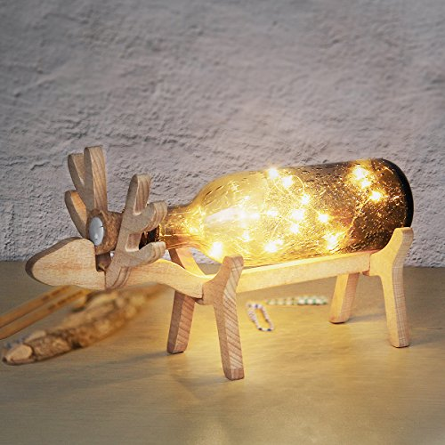 Wine Bottle Light,LANMU LED Cork Lights,Wine Bottle String Lights with Cork,Copper Wire Bottle Lights,3 Pack Wine Bottle Fairy Lights for Halloween/Christmas/Wedding/Party