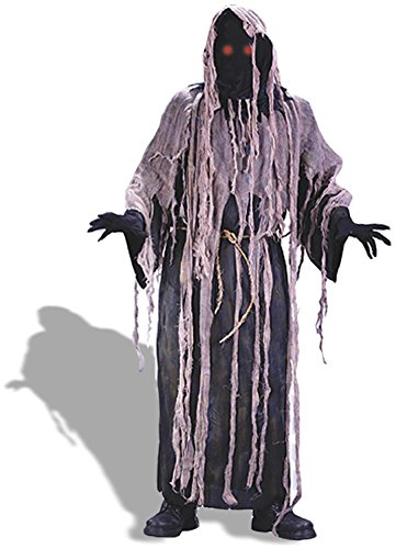 Fun World - Gauze Zombie with Flashing Eyes Adult Costume