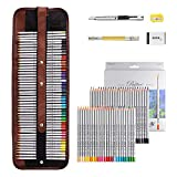 Marco Raffine Fine 48 Art Coloured Pencils +Eraser +pencil extender painting tools