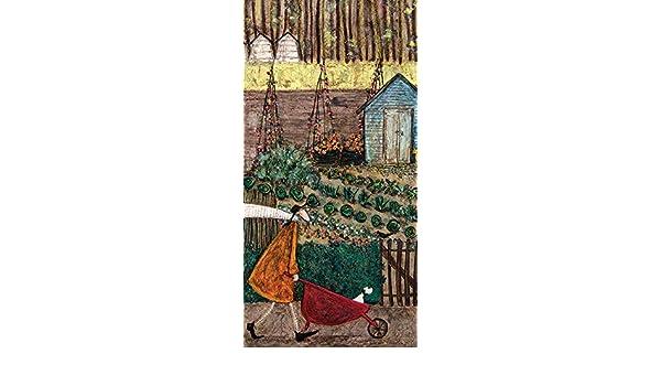 30 x 60cm Canvas Print Wall Art WDC91106 Sam Toft Summer