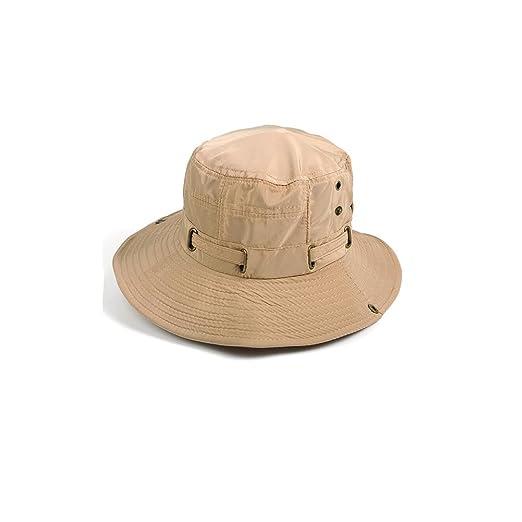 36375744 DALL Bucket Hats LY-511 Men's Summer Hat Visor Hat Sun Cap Straw Hat Beach  Beach Hat Fishing Climbing (Color : Gray): Amazon.co.uk: Kitchen & Home