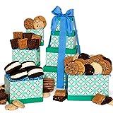 lemon pie gift basket - GourmetGiftBaskets.com Baked Goods Gift Tower, Gourmet Gift Baskets Prime Delivery, Bakery Gift, Kosher Gift, Chocolate Gift, Gift Tower - Birthday, Christmas, Sympathy, Men, Women, Family, Corporate