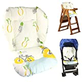 Twoworld Baby Stroller/Car / High Chair Seat Cushion Liner Mat Pad Cover Protector Breathable(Pineapple Pattern)