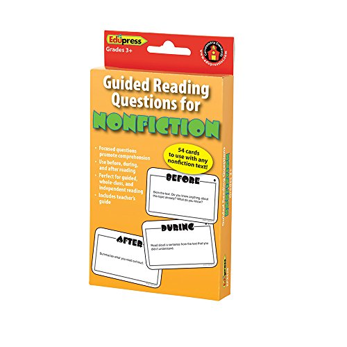 hand2mind 84877 Guided Reading Non Fiction Questions Cards