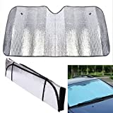 MCK Catchy Foldable Car Windshield Visor Cover Front Rear Block...