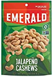 Emerald Jalapeño Cashews Stand Up Resealable Bag, 5 Ounce