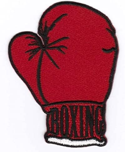 Tema Boxing Toppa Ricamata da Applicare con Ferro da Stiro o Cucitura