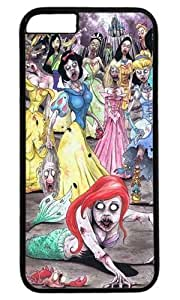icasepersonalized Personalized Protective Case for iPhone 6 plus - Disney Princess Zombies