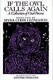 If the Owl Calls Again, Myra Cohn Livingston, 0689505019