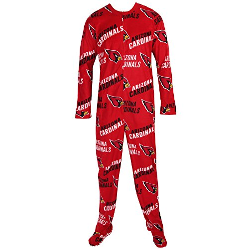 release date: 9b8f8 9bf5b Arizona Cardinals NFL Wildcard Unionsuit Pajamas (Large)