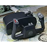 CH Products Flight Sim Yoke USB ( 200-615 ), Black