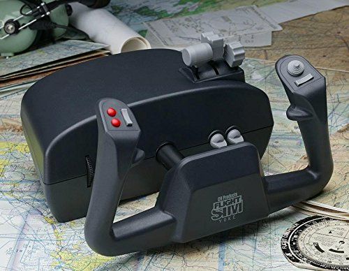 CH Products Flight Sim Yoke USB ( 200-615 ) Ch Products Flight Simulator Yoke