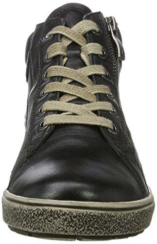 25251 Femme Hautes black Sneakers Noir Multi Caprice Owx8SqS
