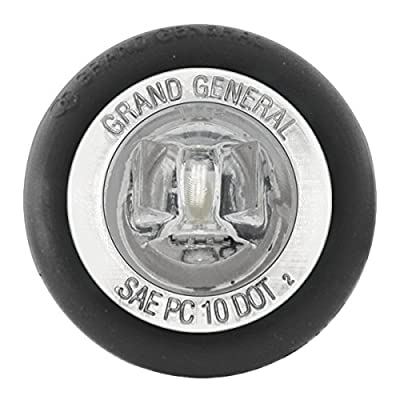 "GG Grand General 75201 1-1/4"" Dual Function Mini Push-in Wide Angle LED Light for Trucks, Towing, Trailers, ATVs, UTVs, RVs: Automotive"