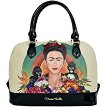 Genuine Frida Kahlo Monkey Series Satchel Handbag
