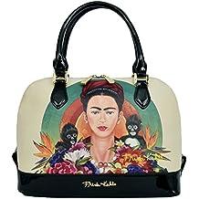 Genuine Frida Kahlo Monkey Series Satchel Handbag