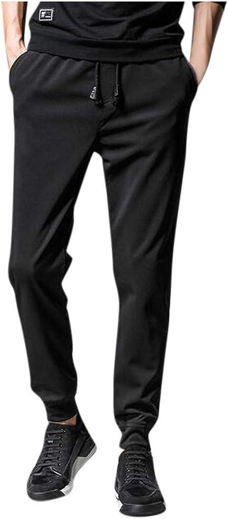 Pantaloni della Tuta Uomo Pantaloni Da Jogging Palestra Fitness Ragazzo Pantalone Sportivi Casual Uomini Pantaloni Slim Fit Elegante Taglie Forti Plus Size Oversize Pantaloni Running Allenamento