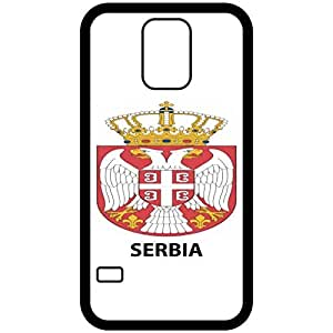 Lesser Serbia - Coat Of Arms Flag Emblem Black Samsung Galaxy S5 Cell Phone Case - Cover