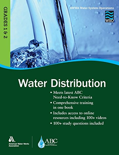 Pdf Transportation WSO Water Distribution, Grades 1 & 2 (Awwa Water System Operations)
