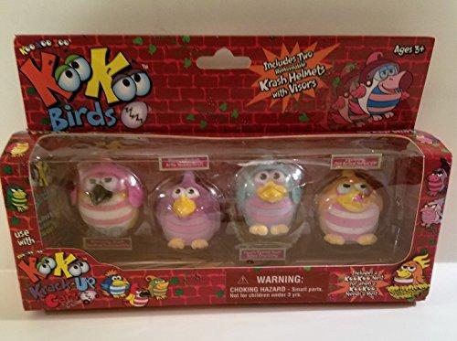 KooKoo Birds - Set of 4