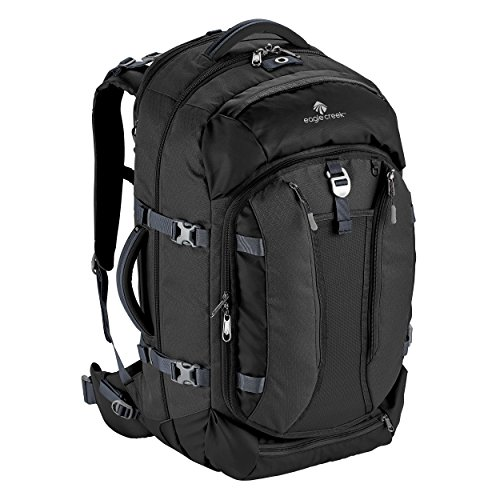 Eagle Creek Global Companion 65L Unisex Backpack Travel Water Resistant Mulituse-17in Laptop Suitecase, Black