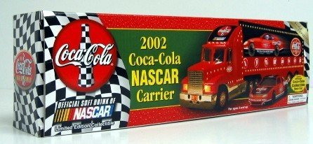 (2002 Coca-Cola Nascar Carrier ~ Gold)
