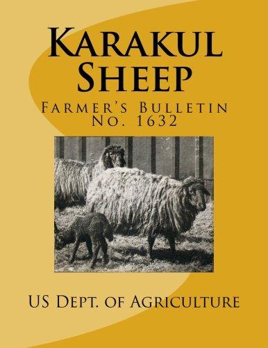 Karakul Sheep: Farmer's Bulletin No. 1632