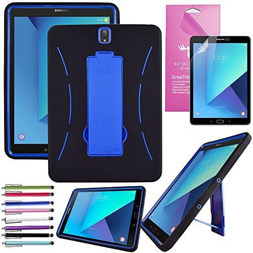 EpicGadget(TM) Heavy Duty Hybrid Galaxy Tab S3 Case