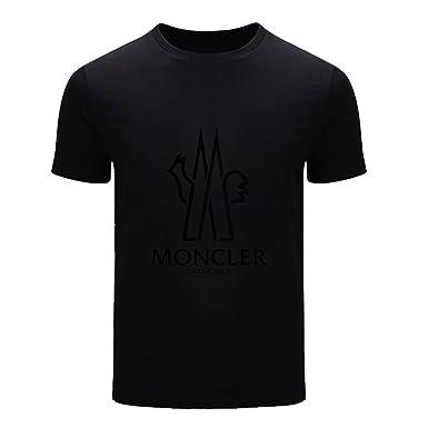 t shirt moncler noir homme
