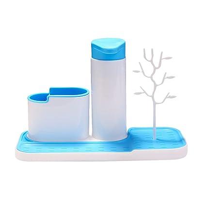 OUNONA Estante para Cepillo de Dientes Estante de Pasta de Dientes Rack Baño Titular de Lavado