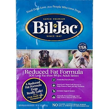 BIL-JAC 319059 Reduced Fat Dry Food for Dogs, 15-Pound