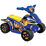 Fun Creation 6V Kiddie Quad Ride-On, Available in Various Colors Blue