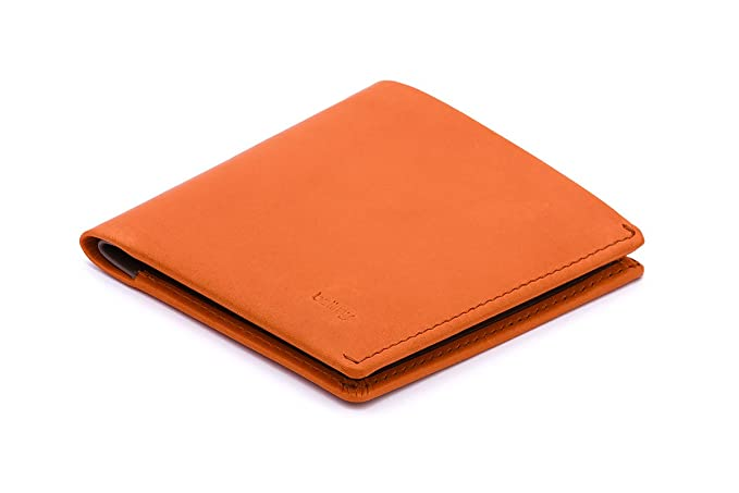 Bellroy Note Sleeve Leather Wallet, Burnt orange