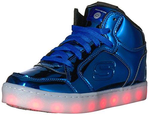 Skechers Kids Energy Lights Eliptic Sneaker,1 M US Little Kid,Royal by Skechers