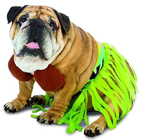 Pet Hula Costume (Rasta Imposta Hula Dog Costume, Small)