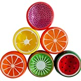 1PC Crystal Fruit Clay Rubber Mud Gum Plasticine Slime Kids Creative Gift Toy