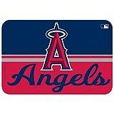 MLB Anaheim Angels Mat, Small/20 x 30-Inch, White