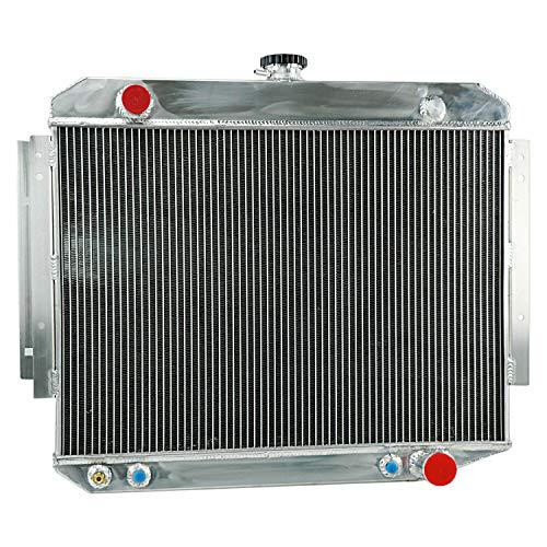 CoolingCare 3 Row Core Radiator for 1971-79 Ram Van Truck, Dodge B100 W150 D100 W100 Ramcharger (25'' Width Core)