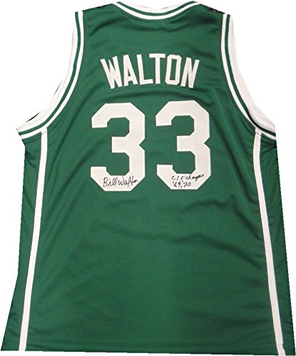 best service c4d84 046c1 Bill Walton Signed Autographed Jersey Boston Celtics Helix ...