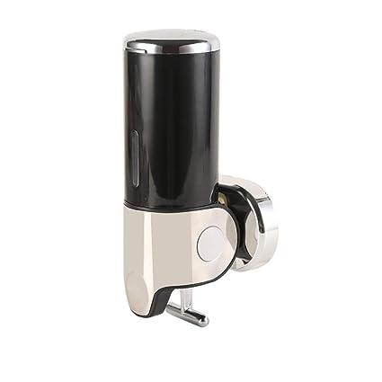 Hagyh Cocina Baño 500 ML Dispensador De Jabón Negro Jabón Multifuncional Caja Líquida Cocina De Acero