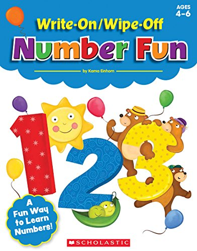 Write-On/Wipe-Off Number Fun - Numbers Off