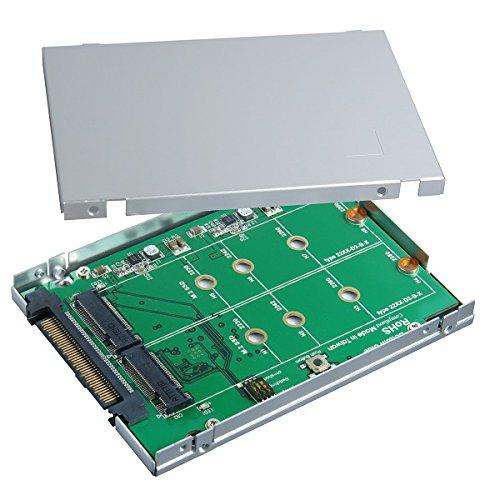 2.5 Inch SATA Express to M.2 SSD RAID Card
